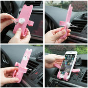 Home Home Car air outlet mobile phone bracket car navigation shelf Car buckle mobile phone holder mobile phone holder
