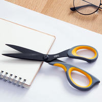 Deli Office scissors sharp stainless steel art scissors student scissors manual scissors household small scissors