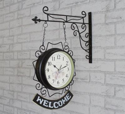 铁艺时钟挂钟 客厅网上商城