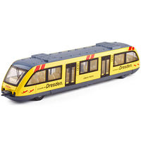Subway model toy train model simulation subway light rail boy sound and light toy train live voice broadcast
