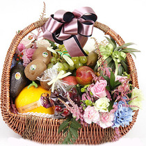 Fresh Fruit Basket Courier Holiday Gifts Delivery Gifts Customers visit gifts with the city birthday Flowers distribution Beijing