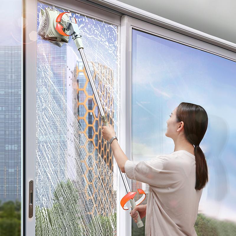 擦玻璃神器家用双面擦高楼双层清洗搽窗户器清洁工具强磁高层中空