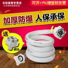 松下海尔三洋滚筒全自动洗衣机进水管接头上水软管加长延长管配件