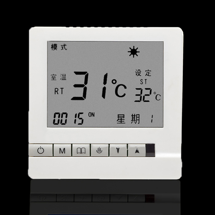 碳纤维电地暖温控器 WIFI手机触屏 碳晶墙暖 电热膜 发热电缆开关