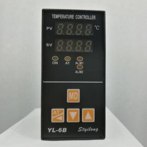 温控器YL-6B数显烤箱烘箱 智能程序K型pid温控表 E型 电流输出