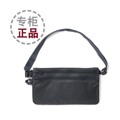 日本MUJI无印良品防盗包旅行收纳包腰包证件包护照机票专柜正品