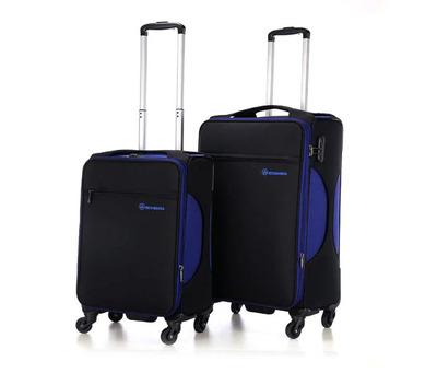 结实行李箱旅行箱24寸万向轮拉杆箱滚轮超轻尼龙面料登机皮箱男女