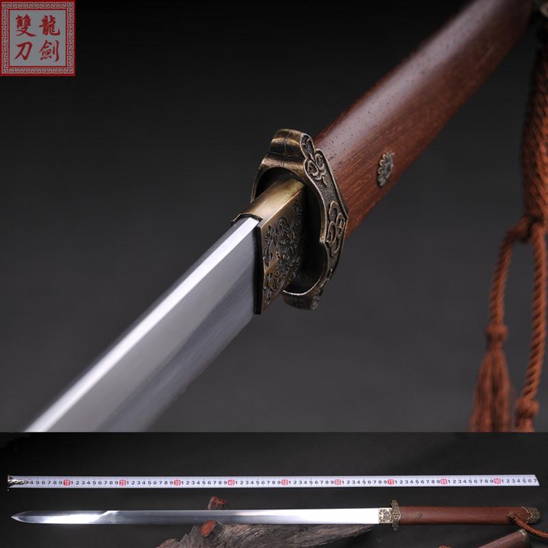 龙泉唐剑花纹钢
