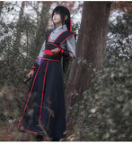 Master cos wears Yiling's elder ancestor Wei Wuxian C and Jiangcheng's ancient costume and Han clothes. Master cos wears Chinese style and Master Devil Tao.