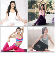 A full set of self-learning zero-based slimming yoga video tutorial primary entry weight loss teaching postpartum recovery electronic version