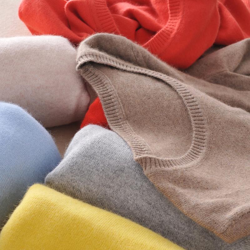 羊绒针织衫羊毛打底衫