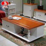 地中海茶几简约小户型客厅创意储物茶几电视柜组合现代烤漆小茶桌