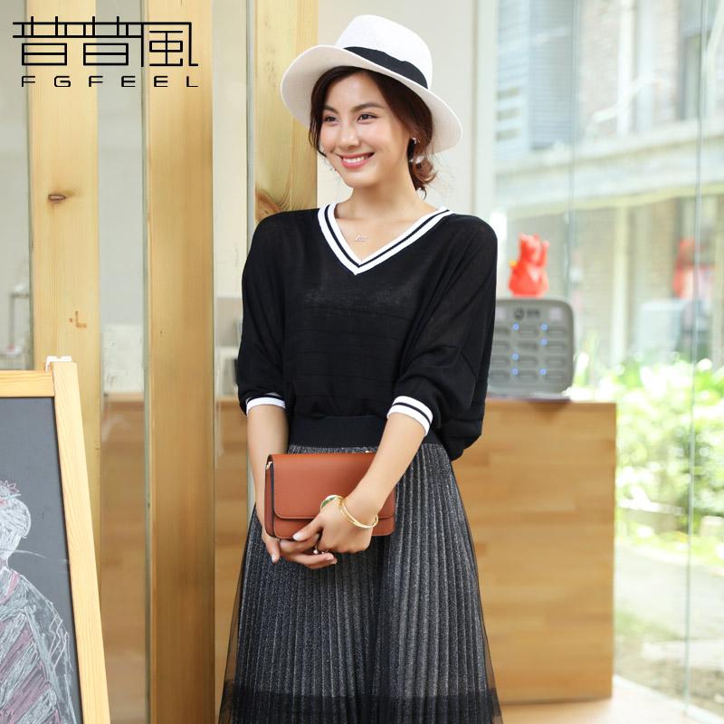 韩版修身型针织衫