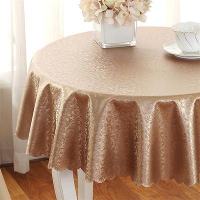 大圆餐桌桌布哪个好