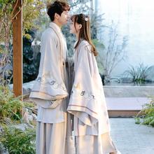 八年老店漢唐之夢漢服男重回古風情侶裝中國風學生公主曲裾女