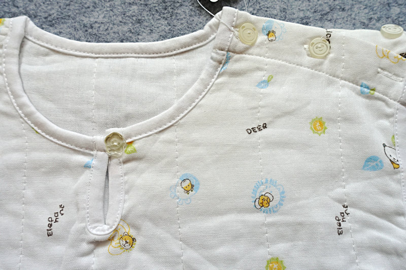 睡袋心适bb婴儿夏薄款纯棉四季一岁内宝宝纱布睡袋夏季防踢包邮