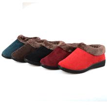牛筋底女鞋 二棉鞋 居家鞋 冬季棉鞋 休闲棉鞋 保暖女款 老北京布鞋