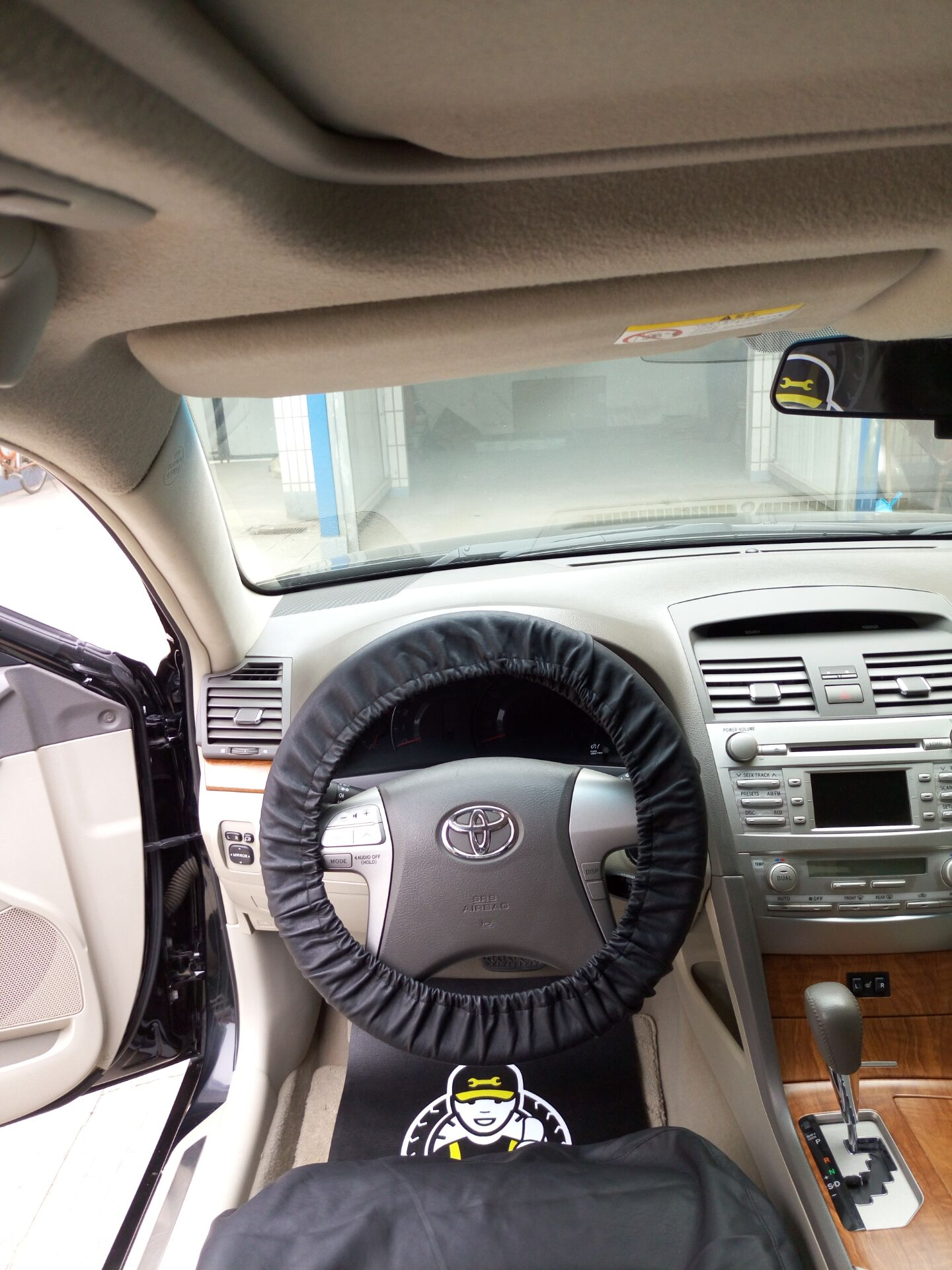 汽车维修保养一次性方向盘套保护套防污塑料一次性把套500个包邮