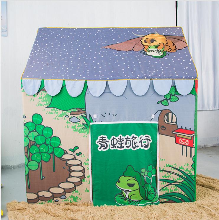 2017新款儿童帐篷游戏屋公主室内生日礼物婴儿玩具屋城堡