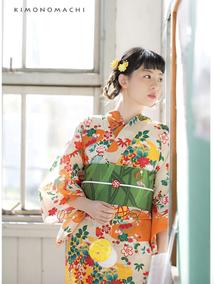 【化纤质地和服】日本和服 小纹正装和服