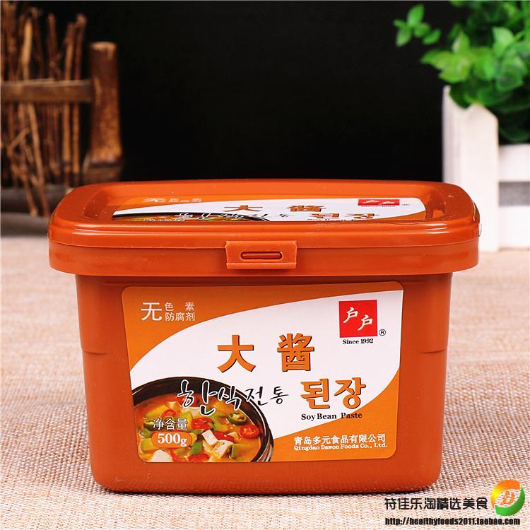 韩国大酱汤调料