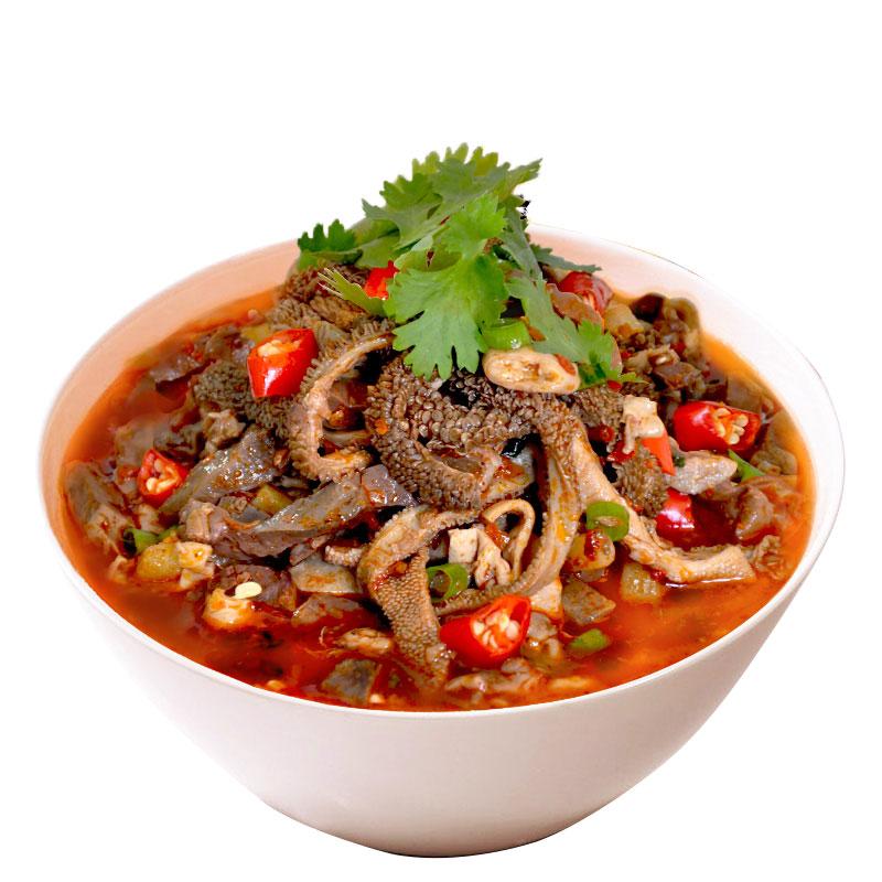 内蒙古特产羊杂碎羊肉羊汤即食新鲜熟食小吃200克*4包