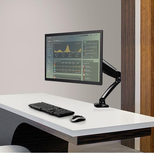 乐歌DLB502+DA1支架旋转升降电脑显示器笔记本散热托盘D5F D5 D5F