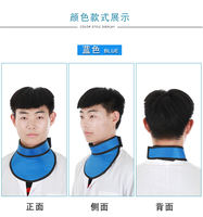 Super soft collar lead plastic collar x-ray thyroid protection neck anti-x neck intervention radiology factory direct