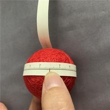 大橙子手造bigcdiy 手鞠球分球利器 带刻度小纸条纸尺子