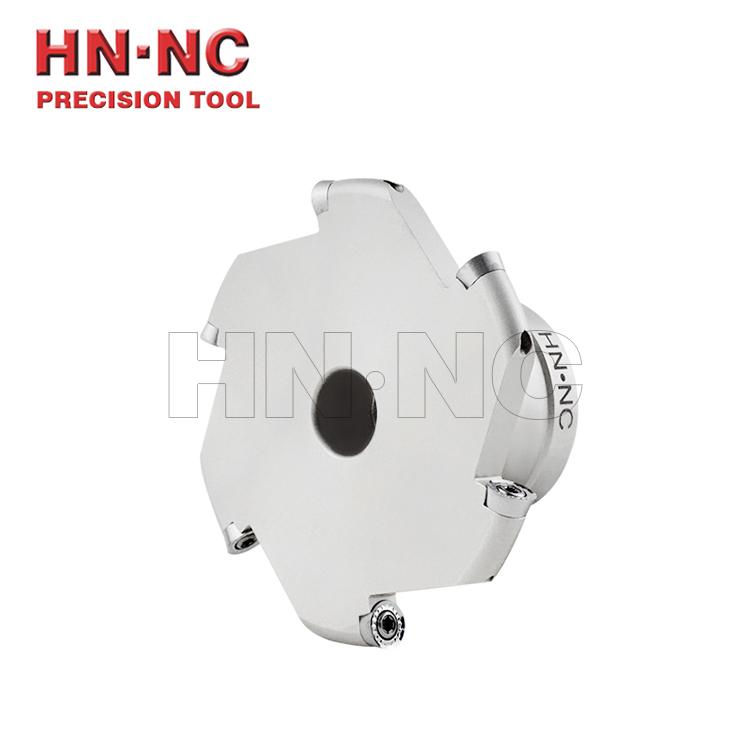 海纳TMR-5R三面刃切槽铣刀盘可转位切槽铣刀盘R5圆弧侧铣刀盘