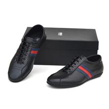 BOSS HAOGE正品商务休闲头层牛皮英伦软底透气新款真皮男式皮鞋