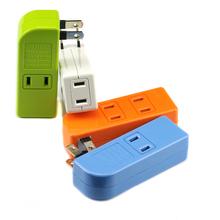 一分四小插排 电源插座 接线板一分四 便携式插座 转换插头