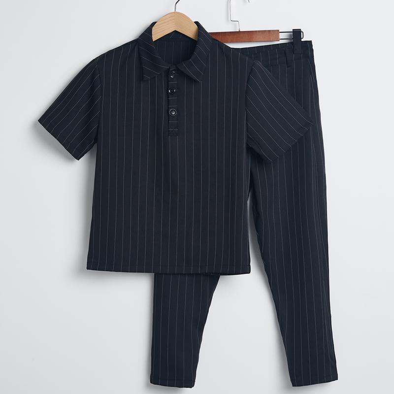 夏季短袖九分裤