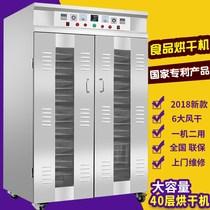 商用大型果蔬花椒风干机干果机肉类脱水机箱商用腊肠腊肠烘干机