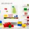 乐高积木Room经典8颗粒多彩塑料收纳盒衣服玩具储物盒有盖8粒