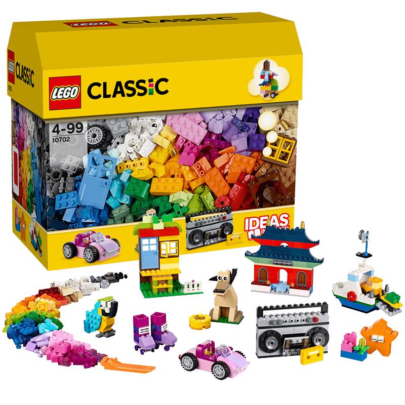乐高儿童益智拼装玩具礼物乐高创意百变创意拼砌套装107025元优惠券