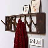Branch real wood clothes hat rack creative wall hanger key clothes hook up door porch buy content rack on the sitting room wall