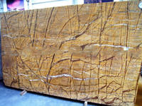 Rainforest natural marble custom wall