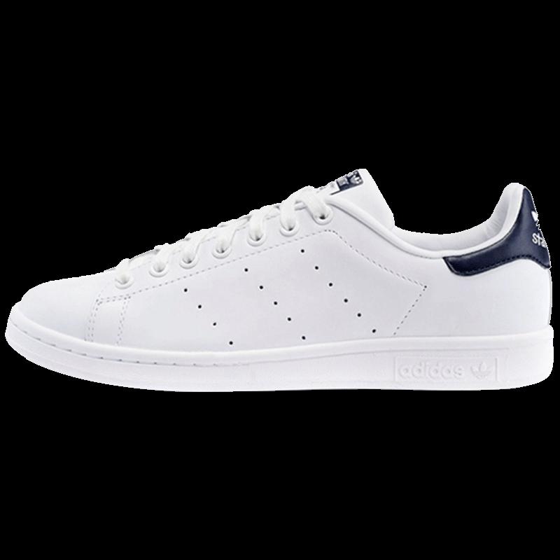 【直营】Adidas三叶草stansmith绿尾小白鞋男女休闲板鞋M20324