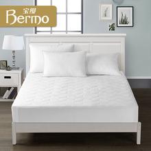 宝缦家纺全棉酒店风时尚床护垫床褥床垫保护垫 雅致床笠床护垫图片