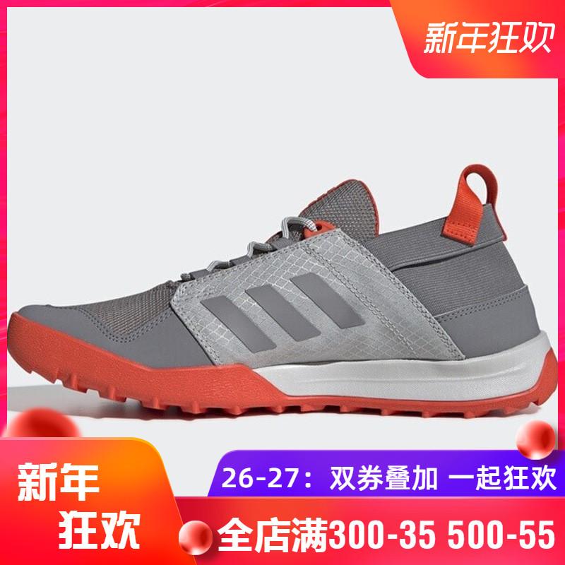 阿迪达斯男鞋2019夏季新款TERREX户外网面鞋涉水鞋溯溪鞋BC0983