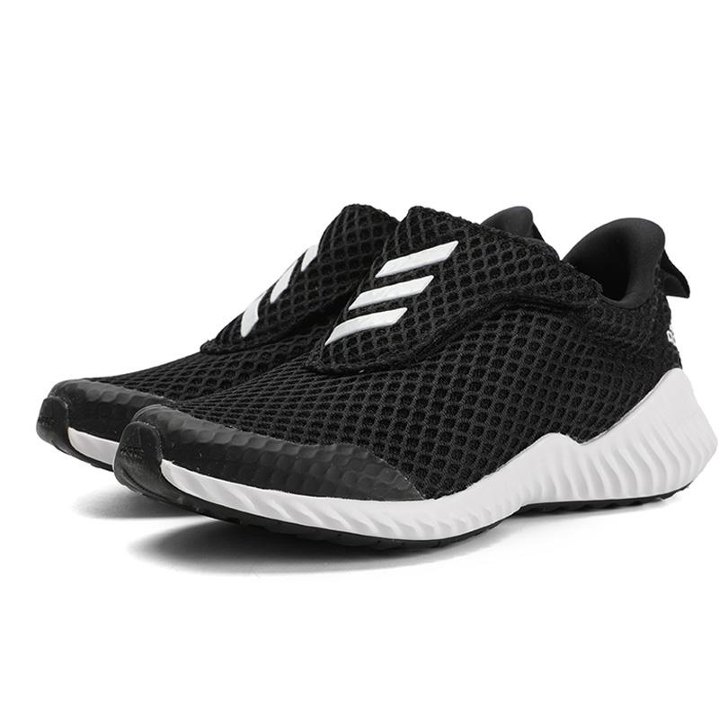 阿迪达斯童鞋2019秋新款正品儿童运动鞋男童女童网面跑步鞋EG6199