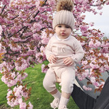 Baby's jacket spring, autumn and winter wear new sweater suit cute new baby princess cashmere sweater