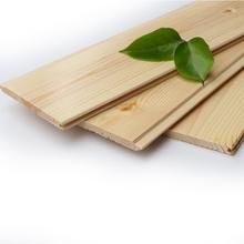 桑拿板吊顶碳化木扣板樟子松防腐木隔墙板实木护墙板室内天花吊