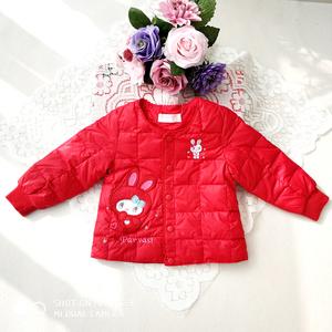 冬季新年款帕娃斯特女童保暖百搭羽绒内胆上衣外套90-120