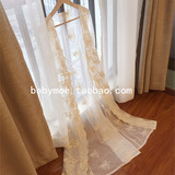 European and American retro court princess sexy long lace cardigan dress women's autumn and winter transparent dressing gowns real pajamas