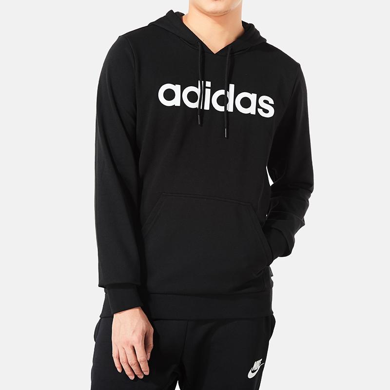 阿迪达斯连帽卫衣男2019春夏季新款长袖运动休闲套头衫卫衣DM4254