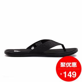 阿迪达斯男鞋拖鞋 2018新款沙滩凉拖鞋软底防滑浴室休闲人字拖
