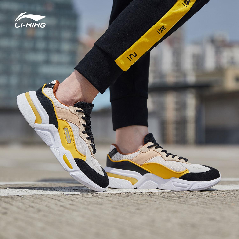 李宁休闲鞋女鞋新款逆转轻便耐磨防滑时尚低帮运动鞋AGCN382