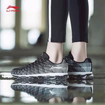 春季新款气垫鞋男学生运动鞋飞织慢跑鞋旅游鞋2017乔丹男鞋跑步鞋